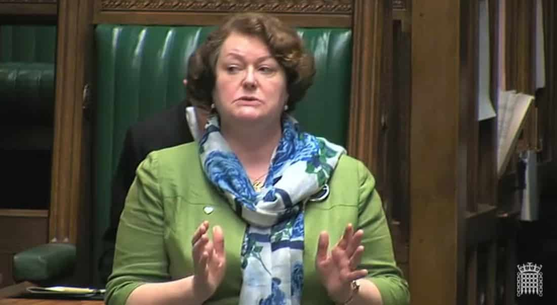 Dr Philippa Whitford, SNP MP for the Central Ayrshire constituency at Westminster, speaking about Junior Doctors and the proposed changes to their contracts.