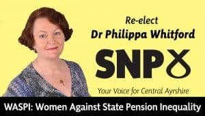 Dr Philippa Whitford talks about state pension inequality and the WASPI campaign.
