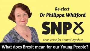 Dr Philippa Whitford talks about what Brexit will mean for our Young People.