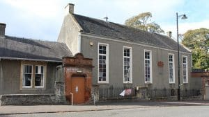 MP Drop-in Surgeries on Friday 13th September 2018 in Dundonald and Monkton. This is a photograph of Montgomerie Hall in Dundonald. Image used under Creative Commons license.