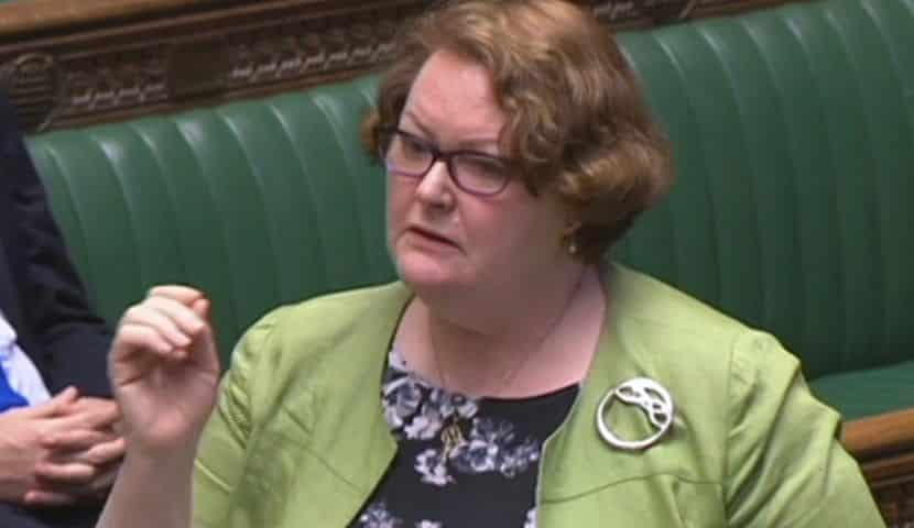 Image of Dr Philippa Whitford MP speaking in Parliament