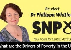 Philippa Whitford talks about drivers of poverty in the UK.