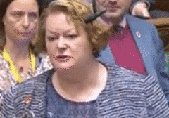 Dr Philippa Whitford MP speaking in Parliament as seen on Parliament Live